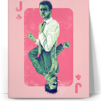 Jack Of Fight Club canvas