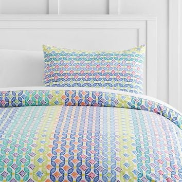 Cabana Pop Duvet Cover + Sham