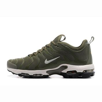 Nike Air Max Plus TN Woman Fashion Running Sneakers Sport Shoes Army green
