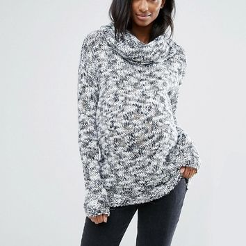 Mamalicous Long Sleeve Roll Neck Knitted Jumper at asos.com