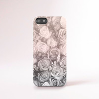 Ombre Floral iPhone 6 case Flower Phone 6 Plus Case Floral iPhone 5 Case Floral Samsung Galaxy S5 Case Floral Spring Flowers Pastel Pink