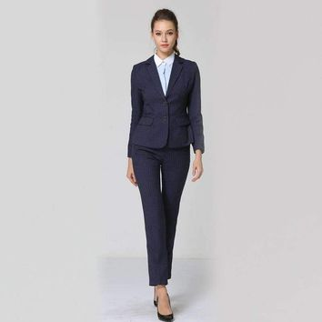 Formal Suits For Women Casual Business Suitspants Work Wear Sets Uniform Styles Elegant Pant Suits Female Sets