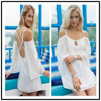 Summer Maxi Dresses 2015 Woman Summer Holiday Dresses Sexy Sleeveless Women Summer Casual Boho Cocktail Maxi Evening Party Beach Dress #8959