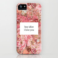 i love you iPhone & iPod Case by Sara Eshak