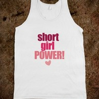 Short Girl Power tank - His Princess