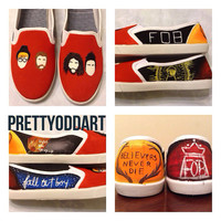 Fall Out Boy shoes