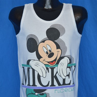90s Mickey Mouse Disney Florida Tank Top t-shirt Small