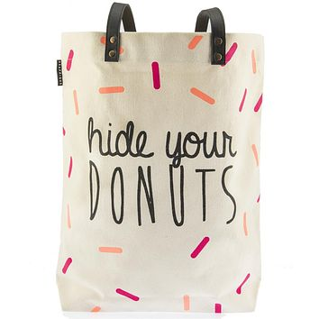 Hide Your Donuts Shopper Tote Bag
