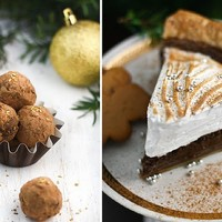 Sprinkle Bakes: Gingerbread Pie and Coffee Mascarpone Truffles
