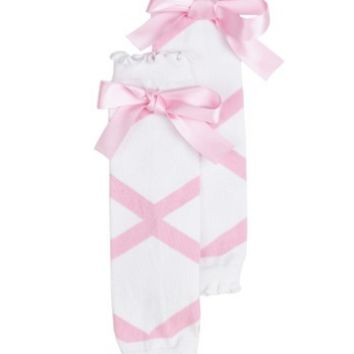 Pink Ballet Bow LegWarmers©
