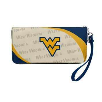 West Virginia Mountaineers Wallet Curve Organizer Style