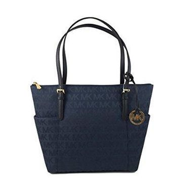 Michael Kors Signature East West Top Zip Tote