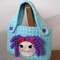 PATTERN: Lalaloopsy Inspired Crochet Purse