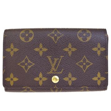 Auth LOUIS VUITTON Tresor Bifold Wallet Purse Monogram Leather BN M61730 01BD679
