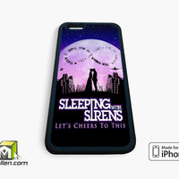 Sleeping With Sirens Infinity Quote iPhone Case 4, 4s, 5, 5s, 5c, 6 and 6 plus by Avallen