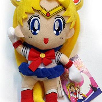 "GE Entertainment Sailor Moon Plush Toy - 7"" Sailor Moon"