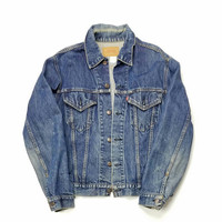 Levi's Size 42 Made In USA Jean Jacket