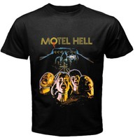 Motel Hell design extra large Size S, M, L, XL, 2XL, 3XL, 4XL, and 5XL