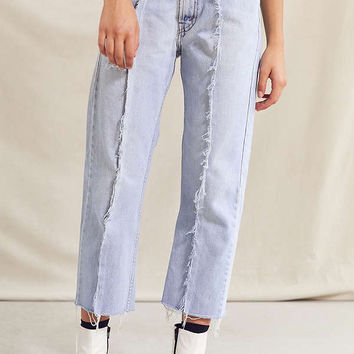Urban Renewal Recycled Seamed Front Levi's Jean | Urban Outfitters
