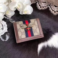 GUCCI WOMEN'S LEATHER WALLET