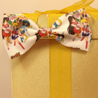 Sailor Scout Handmade Hair Bow