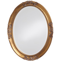 Queen Ann Antique Gold Mirror