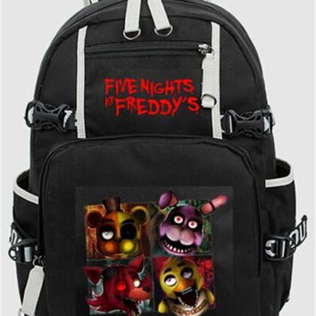 At  Freddy Backpack Chica Foxy Bonnie  Shoulder 44x15x33 cm Day Bag Pack