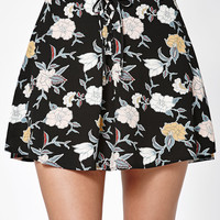 Kendall and Kylie Lace-Up Woven Skirt at PacSun.com