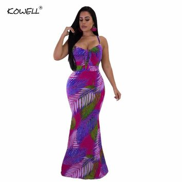 Backless Fitted Slip Dress Vintage Mermaid Print Sexy Women Summer Dresses 2018 Square Collar Bodycon Club Party Dress Vestidos