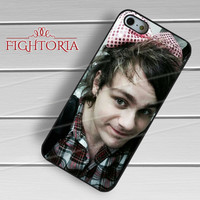Michael Clifford Wearing Bow - zZzA for  iPhone 4/4S/5/5S/5C/6/6+s,Samsung S3/S4/S5/S6 Regular/S6 Edge,Samsung Note 3/4