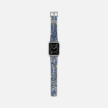 geo feathers blue apple watch band Apple Watch Band (38mm) by Sharon Turner   Casetify