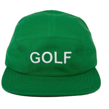 GOLF CAMP HAT KELLY GREEN – golfwang