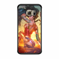 Wonder Women And Zelda Tattoo Superhero Samsung Galaxy S6 Edge Case