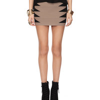 Colorblock Bodycon Skirt | FOREVER21 - 2000038816