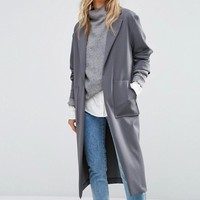 New Look Soft Duster Coat at asos.com