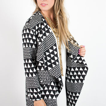 MINKPINK Sparks Fly Waterfall Jacket