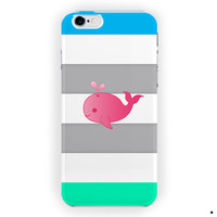 Cute Animal Cute Pink Baby Design For iPhone 6 / 6 Plus Case