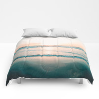 California Seaside Comforters by SoCal Chic Photography