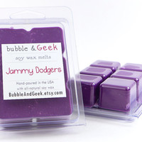 Jammy Dodgers Scented Soy Wax Tart Melts - Doctor Who