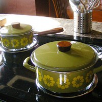 Vintage Cookware by Austria Email by GSArcheologist on Etsy