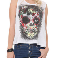 Flower Skull Tank Top | Hot Topic