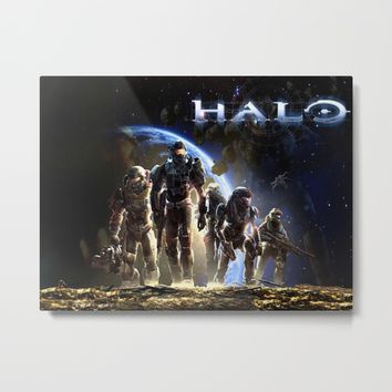 halo 5 Metal Print by nurrahaq