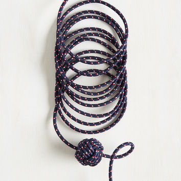 Knot Your Average Charging Cable in Nautical | Mod Retro Vintage Electronics | ModCloth.com
