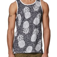 On The Byas Glenn Pineapple Stamp Tank Top - Mens Tee