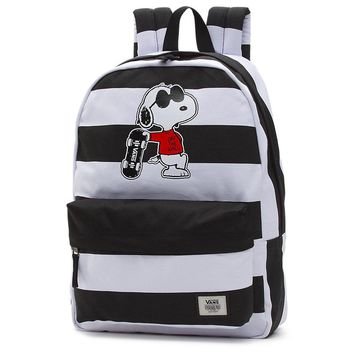 VANS X PEANUTS REALM BACKPACK