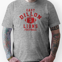 East Dillon Lions Football - 5 Gray Unisex T-Shirt
