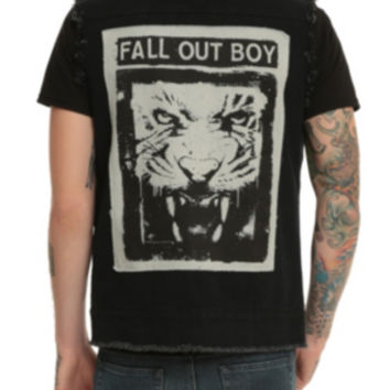 Fall Out Boy Denim Vest
