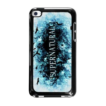 SUPERNATURAL LOGO iPod Touch 4 Case Cover
