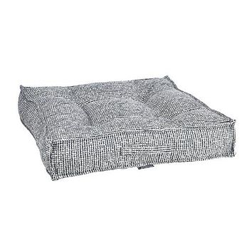 Chenille Square Piazza Dog Bed — Lakeside