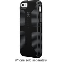 Speck - Candyshell Grip Case for Apple® iPhone® 5c - Black/Slate Gray